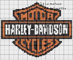 Voici la grille du logo Harley Davidson refaite : Et en voici une nouvelle :