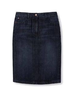 Denim Pocket Pencil WG575 Knee Length Skirts at Boden