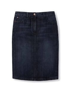 Denim Pocket Pencil WG575 Knee Length Skirts at Boden
