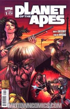 Set in the original movie continuity, you should add these #PlanetoftheApes Vol. 3 back issues to your sci-fi simian syllabus!