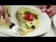▶ Lékué TV | Omelette | Recipe: Green pepper, onion and garlic omelette - YouTube