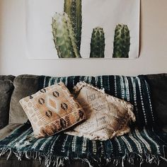 Desert home decor cactus print |Valerie Denise Photos
