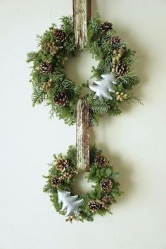 Mini Christmas Trees Creative Xmas Art Supplies for Christmas Crafts and Decorations (Pack of - My Cute Christmas Christmas Door, Green Christmas, Rustic Christmas, Winter Christmas, Christmas Holidays, Christmas Arrangements, Flower Arrangements, Christmas Decorations, Christmas Ornaments