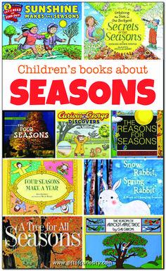 Weather Activities Preschool, Seasons Activities, Preschool Books, Preschool Science, Kids Learning Activities, Preschool Activities, Best Toddler Books, Family Child Care, Teaching First Grade