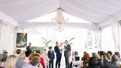 Malaparte is a spectacular event space on the floor at TIFF Bell Lightbox, in the heart of Toronto's Entertainment District. Wedding Ceremonies, Outdoor Weddings, Event Venues, Toronto, Entertaining, Table Decorations, Home Decor, Homemade Home Decor, Wedding Ceremony