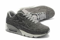 Nike Air Max 90 VT Tweed Shoes Grey Sail White Unisex,Lastest New Nike Air Max 90 VT Shoes For Sale