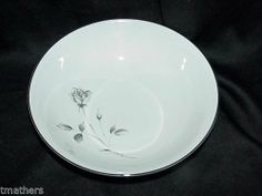 """Society Shadow Rose 9"""" Round Vegetable Bowl"""