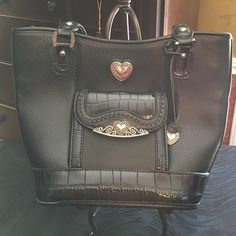 FINAL MARKDOWN!!! Brand new! Nice black handbag. *Smoke free household. Bags Shoulder Bags