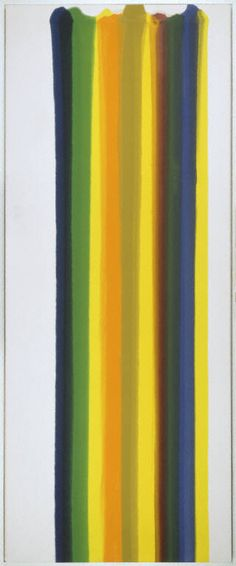 Morris Louis Number 182 Morris Louis 1912-1962 NATIONALITY American  CREATING DATE 1961 MEDIUM Acrylic 4307dafc7e41f