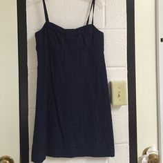 Lilly Pulitzer Navy Patterned Dress