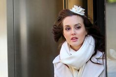 Blair Waldorf fascinator