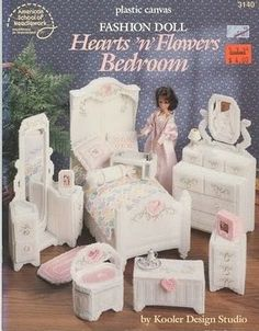 Hearts n Flowers Bedroom - site has all charts free