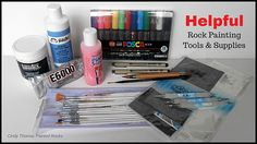 Painting Rocks: Helpful Rock Painting Tools and Supplies