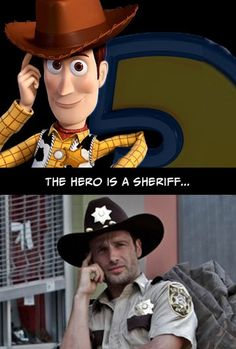 Toy Story & The Walking Dead Are Really The Same Story. If you click the link you can see the full comparison.