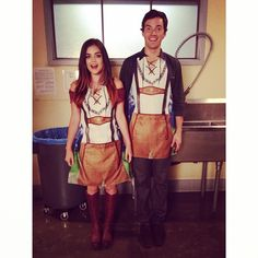We love Ian and Lucy! They are so cute! | Pretty Little Liars