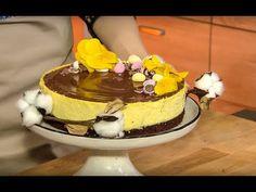 Słodka Kuchnia Pszczółek - Sernik z ajerkoniakiem - YouTube Youtube, Food, Meals, Yemek, Youtubers, Youtube Movies, Eten