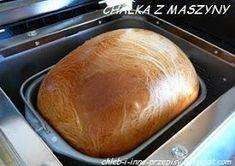 CHLEB I INNE PRZEPISY: 61-CHAŁKA Z MASZYNY Baked Potato, Bread Recipes, Food And Drink, Baking, Ethnic Recipes, Breads, Bread Baking, Bread Rolls, Bakken