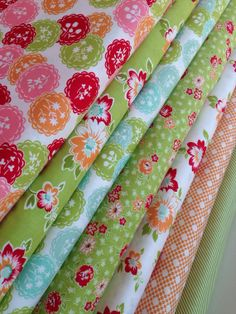 Scrumptious quilt fabric bundle by Bonnie and Camille for Moda Fabrics- Fat Quarter Bundle- 7 total plus