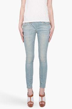 Zip Skinny Jeans - StyleSays