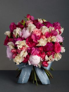 Strawberries and cream Nothing says British summer like strawberries and cream! Our delicious peonies, roses and sweet peas will bring summer to you, whatever the weather. Prices from £75