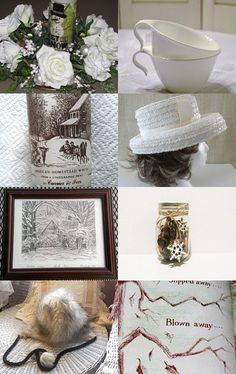 WINTER SOLSTICE - SNOW, SNOW, SNOW by Christine Behrens on Etsy--Pinned with TreasuryPin.com