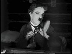 """The Gold Rush (1925): In a charming fantasy sequence he delivers the legendary """"roll dance""""."""