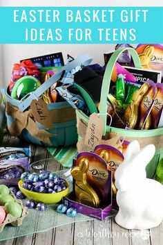 Movie night easter basket idea for teen or young adult via home its easter time ive rounded up a list of ideas your teen boys negle