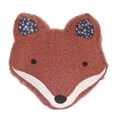 """Image of Coussin renard """"Foxy lady"""" Animal Cushions, Sass & Belle, Home And Deco, Shabby Chic Homes, Red Riding Hood, Little Red, Soft Furnishings, Decoration, Cute Gifts"""