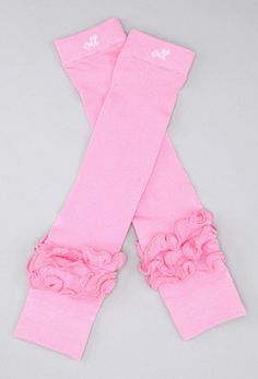 #OLL Pretty in Pink Leg Warmers by PoshBabyStore.com