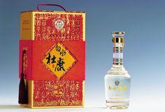 Baishui Dukang Liquor (China) Beautiful bottle and box PD