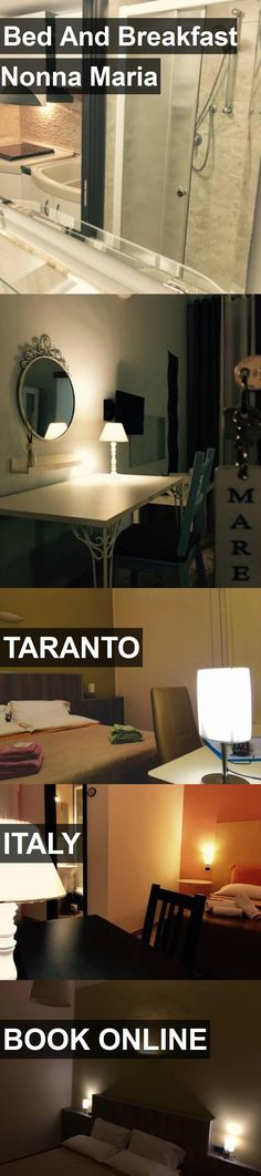 Hotel Bed And Breakfast Nonna Maria in Taranto, Italy. For more information, photos, reviews and best prices please follow the link. #Italy #Taranto #travel #vacation #hotel