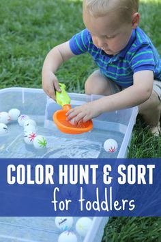 Toddler Approved!: Color Hunt and Sort for Toddlers