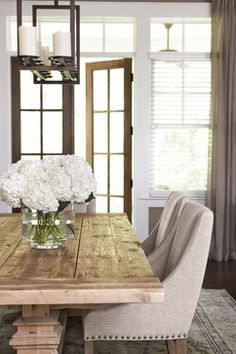 Palmetto Bluff - Private Residence - transitional - dining room - charleston - Linda McDougald Design | Postcard from Paris Home