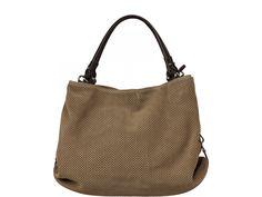 Italská kožená kabelka Filomena Taupe