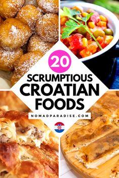 Croatia Travel, Travel Europe, Traditional Croatian Food, International Food Day, Cookbook Recipes, Cooking Recipes, Croation Recipes, Croatian Cuisine, Cocoa Cake