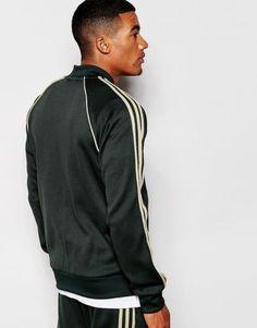 9e40ca16b3e4 RARE adidas Originals Superstar MEN S TRACK JACKET   PANTS JUNGLE INK LG  LAST1