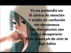 Insanity Cancion con letra español latino :D - YouTube