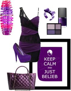 """""""Keep Calm &-- JUSTIN BIEBER!!!"""" by christiana-nisi-walker ❤ liked on Polyvore"""