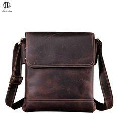 Mens Shoulder Bag Leather Men's Genuine Leather Handbags Men's Over Shoulder Bag Crazy Horse Handbag Briefcase Business Packag Mens Over Shoulder Bag, Laptop Shoulder Bag, Laptop Bag, Leather Shoulder Bag, Crazy Horse, Tote Handbags, Leather Handbags, Man Purse, Leather Briefcase