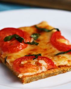 Sheet Pan Quinoa Pizza Crust Recipe by Tasty