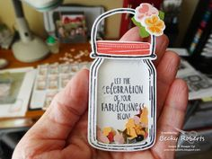 Jar of Love Table Decorations