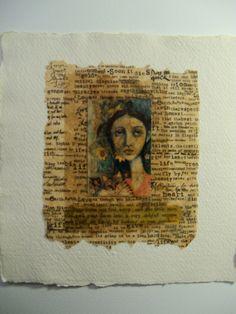catalina rabasa. teabag art/collage