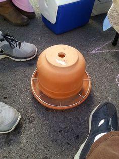 Jordan's Croft: Terracotta Pot Heater