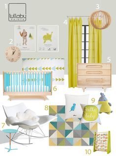 My Modern Nursery #75: Sponsored by @Lullaby Paints