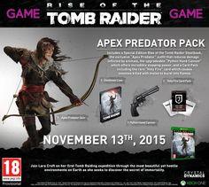 Tomb Raider Game Pre-Order Pack