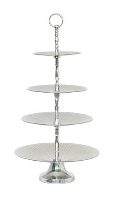 Cake stand in 4 layers by Lisbeth Dahl Copenhagen Spring/Summer 13. #LisbethDahlCph #Delicious #Treat #Cakestand #Lovely #Layers