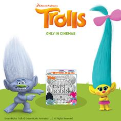 Have you yet seen our limited Trolls edition? 😍 #invisibobbletrolls