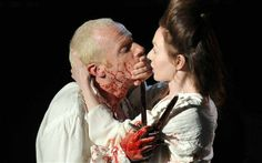 Macbeth has murdered and is now dirty and in psychological need for help. He wonders wether his wife still loves him because he did it for her.