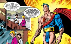 WHAT IF MALE SUPERHEROES' COSTUMES WERE DESIGNED LIKE FEMALE SUPERHEROES' COSTUMES?