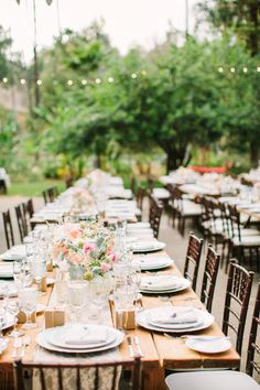 Gorgeous rustic wedding table: http://www.stylemepretty.com/little-black-book-blog/2015/01/17/rustic-romance-at-bandy-canyon-ranch/ | Photography: Birds of a Feather - http://birdsofafeatherphoto.com/